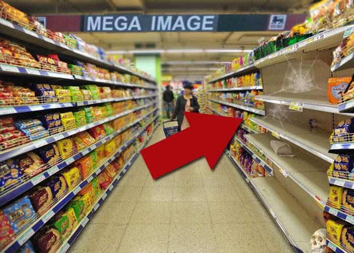 Paranormal! Un magazin Mega Image, bântuit de fantoma unuia Mic.ro!