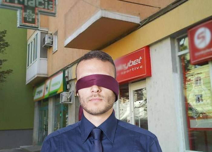 Cel mai nou joc în Bucureşti! Te legi la ochi, intri pe prima uşă şi trebuie să ghiceşti dacă e farmacie sau casă de pariuri
