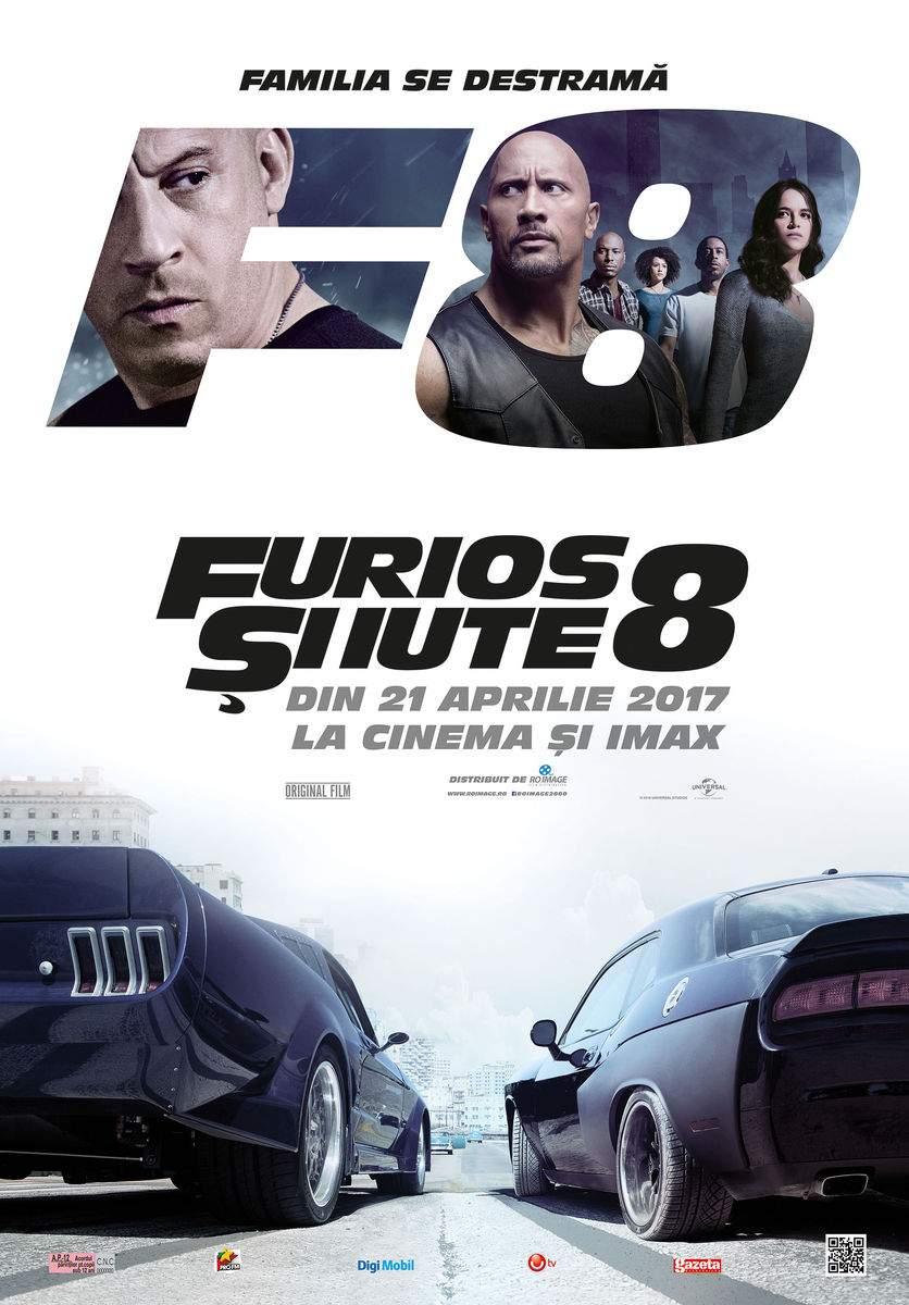 The Fate of the Furious (2017) – La prima intersecție virați la thriller, la a doua, la telenovelă