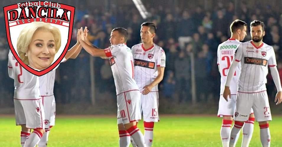 După încă o umilință, Dinamo devine FC Dăncilă, că-i un nume mult mai potrivit