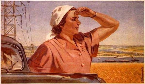 Avantajele femeii sovietice ca fiinţă inferioară