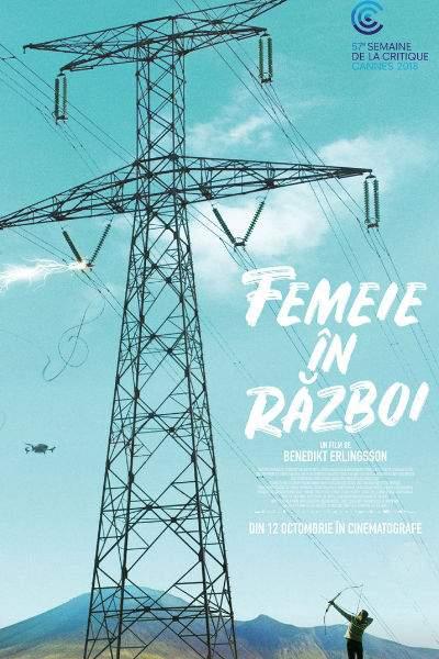 Kona fer í stríð (Femeie în război) (2018) – Pană, panică și panorame