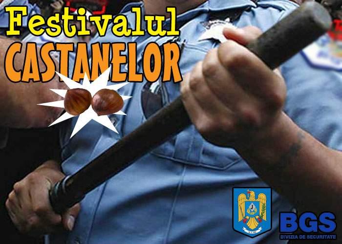 Campanie de imagine: Jandarmeria organizează Festivalul Castanelor, cu sprijinul BGS