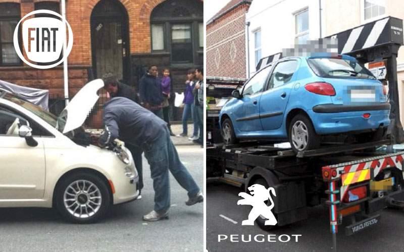 Fuziunea Fiat-Peugeot a eşuat: directorilor li s-au stricat maşinile în drum spre semnare