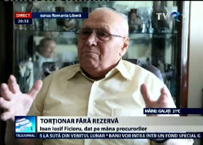"""Românii îl acuză pe Ion Ficior de dublu genocid: """"A fost şi torţionar, şi administrator de bloc!"""""""