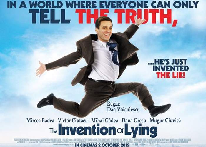 "Antena 3 lansează superproducţia ""The invention of lying"""