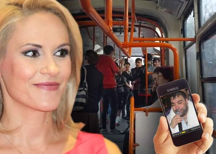 Sărbătoare în tramvaiul 41! Gabi Firea a inaugurat wirelessul RATB cu o manea de pe youtube