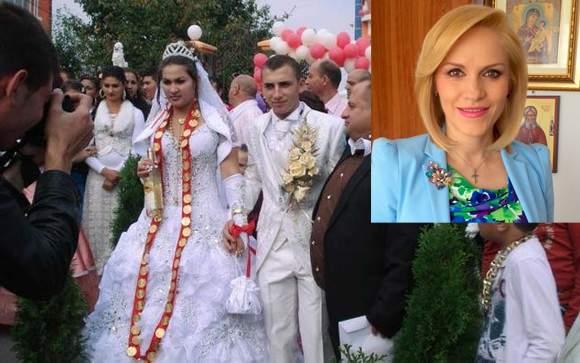 Impresionaţi de valoarea Gabrielei Firea, tot mai mulţi ţigani o angajează să le organizeze nunţile