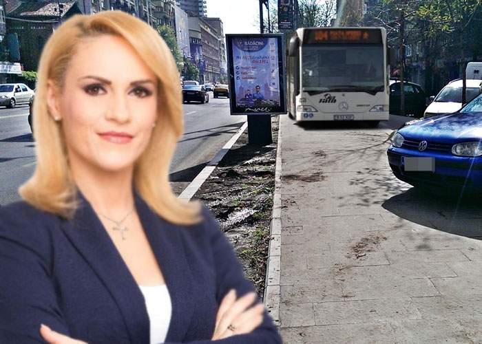 Gabi Firea testează încă o soluţie pentru traficul din Bucureşti: autobuzele vor circula pe trotuar