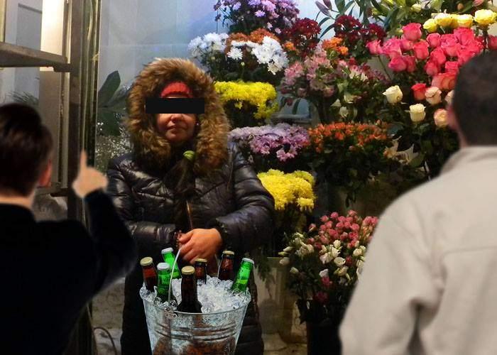 O florărie a avut încasări record pentru că a vândut bere rece bărbaţilor veniţi să cumpere flori