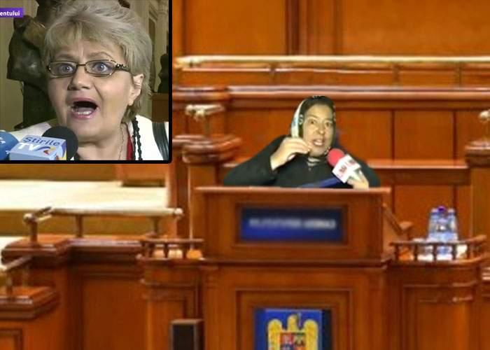 Păcat! Dacă protestele erau înainte de alegeri, Floricica Dansatoarea era acum Floricica Senatoarea