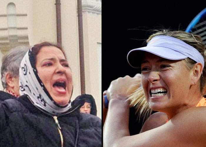 Suntem răzbunaţi! Deşi a bătut-o pe Halep la tenis, Sharapova a fost învinsă de Floricica Dansatoarea la urlete