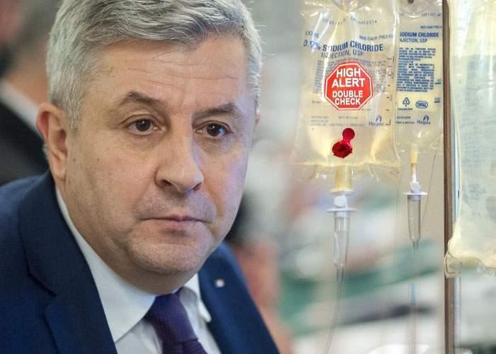 Florin Iordache, dus de urgenţă la spital! Medicii i-au recomandat să mai mănânce şi altceva decât căcat