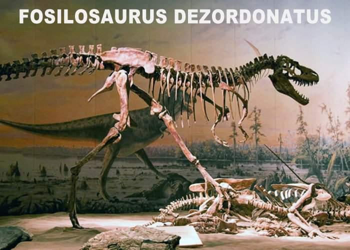 A fost descoperit Fosilozaurul, un dinozaur dezordonat care-şi lăsa oasele peste tot