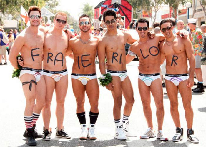 Homosexualii organizează mâine o paradă, ca să ne facă în ciudă că ei n-au Ziua Femeii