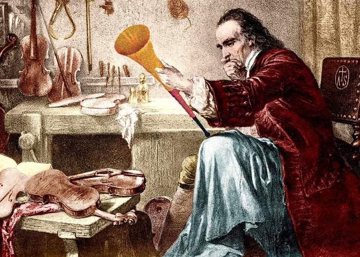 Secretele istoriei! Antonio Stradivari avea un frate cretin care făcea vuvuzele