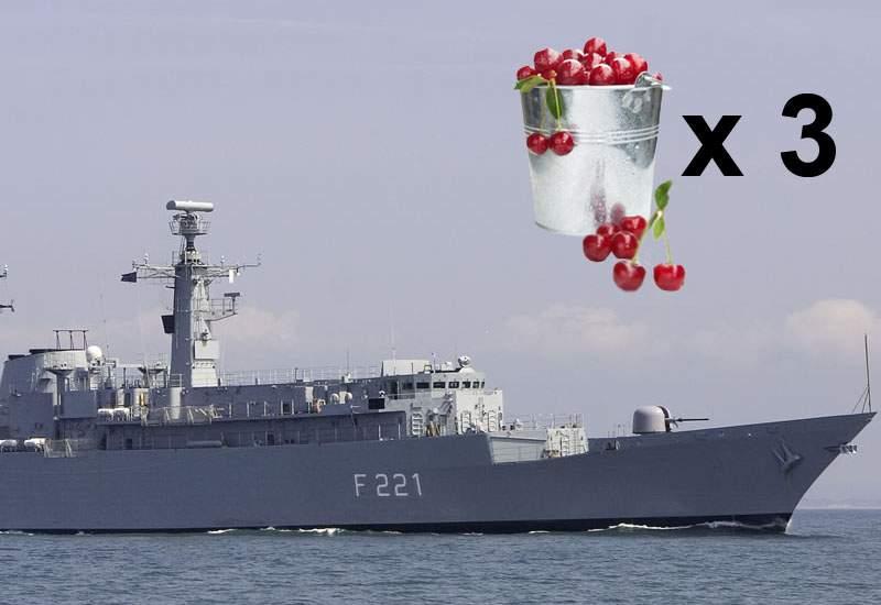 România cumpără fregate militare la un preţ exorbitant: 3 găleţi de cireşe!
