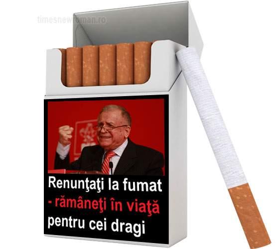 Fotogalerie! Noi avertismente pe pachetele de țigări, ilustrate cu vedete de la noi