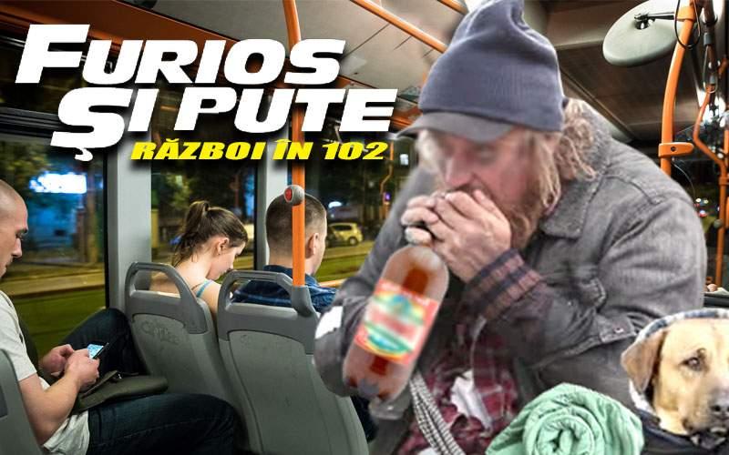 """""""Furios şi pute"""", primul film de acţiune turnat într-un autobuz STB"""