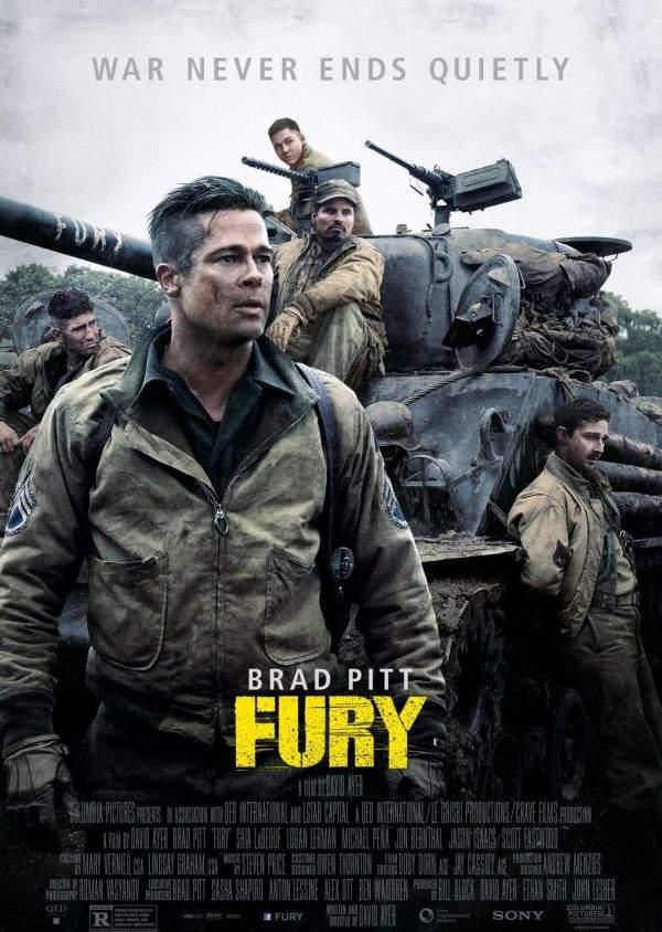 Fury – No(t) pity, just Pitt