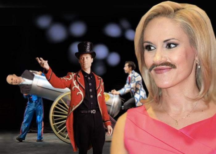 Ca să aibă și mai mult succes în lumea circului, Gabi Firea și-a lăsat mustața să crească