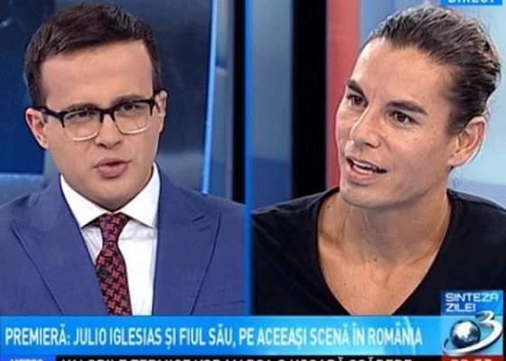 Voiculescu îşi cere scuze pentru scena cu Iglesias: Gâdea era în sevraj, nu-şi luase porţia de cur