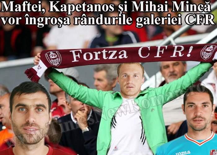 CFR Cluj va împrumuta o parte dintre jucători propriei galerii