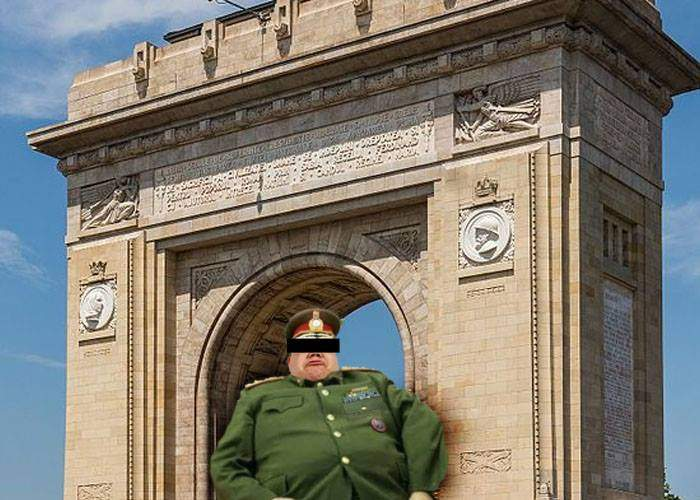 Parada va ocoli şi anul acesta Arcul de Triumf, că tot rămâneau generalii înţepeniţi în el