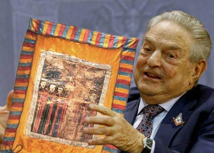Respect! Drapelul lui Avram Iancu a fost cumpărat de marele patriot George Soroș