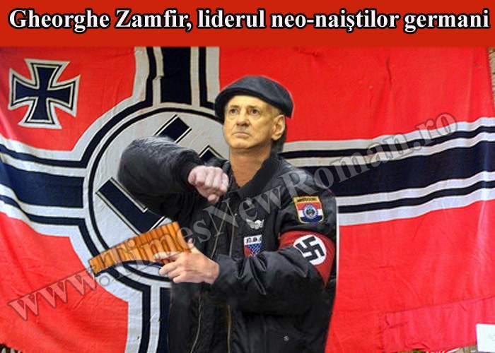 Gheorghe Zamfir, bănuit că este liderul grupării neo-naiste care a şocat Germania