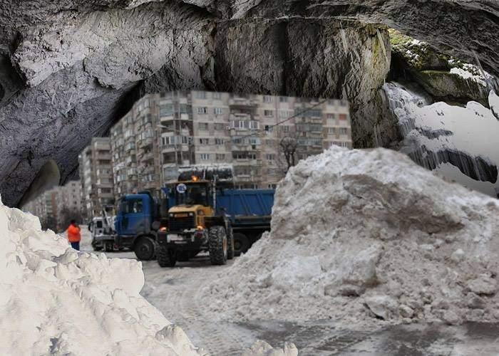 Adio, Scărişoara! În Bucureşti se construieşte o peşteră peste gheţarul de la Răzoare