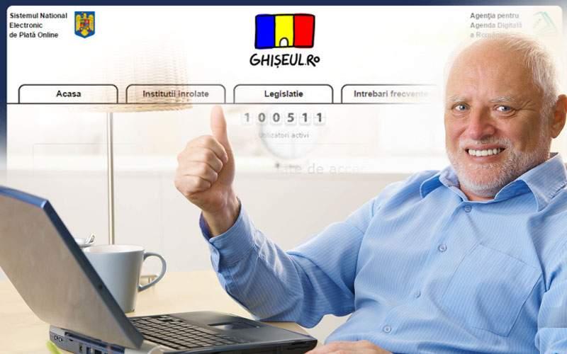 Toţi românii au parola 1234 la ghişeul.ro, că poate intră cineva şi le plăteşte taxele