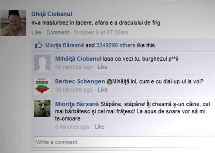 Tipic românesc: Pentru că ei nu au semnal, ciobanii Orange şi Cosmote i-au pus gând rău lui Ghiţă