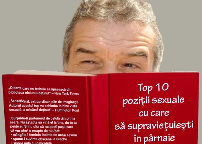 """Meme i-a împrumutat lui Gigi cartea """"Top 10 poziţii sexuale cu care să supravieţuieşti în pârnaie"""""""