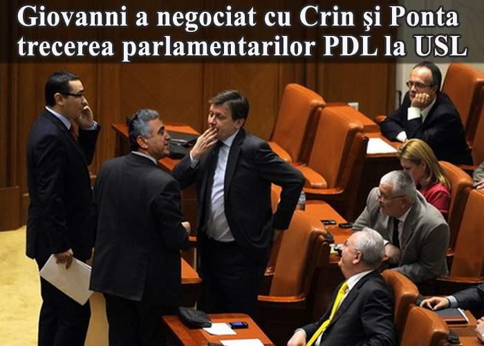 Transferurile de parlamentari PDL, intermediate de firma fraţilor Becali