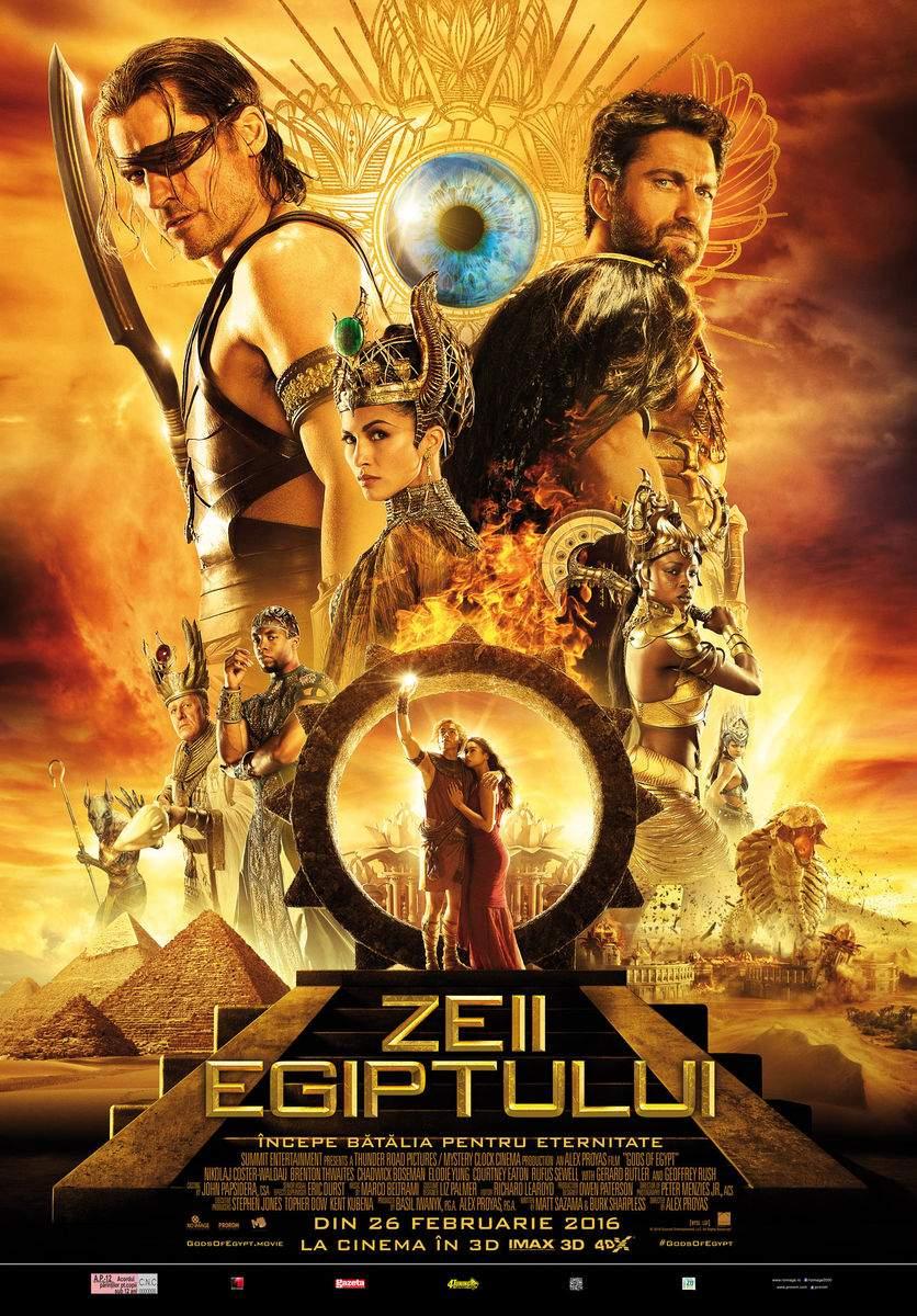 Gods of Egypt (2016) 3D – Gerard Butler, te mai gândești la Mădălina Ghenea?!