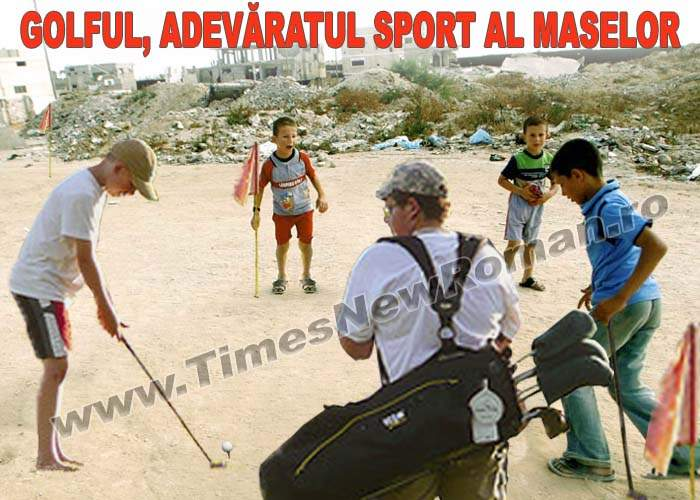 Golful a devenit cel mai popular sport din România