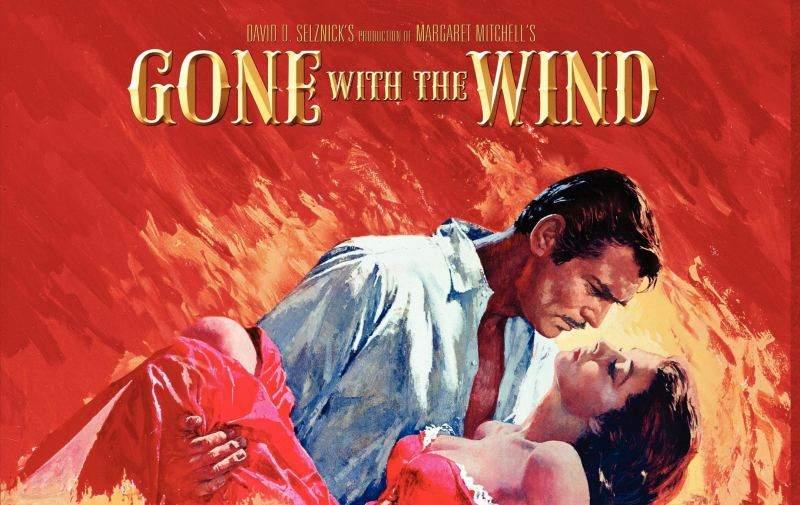 """""""Pe aripile vântului"""", interzis într-un cinema din SUA! Alte 10 filme care probabil urmează să fie interzise"""