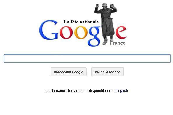 Poza zilei! Google celebrează Ziua Naţională a Franţei printr-un logo special