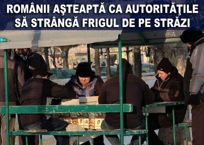 Nămeţii de frig au paralizat traficul din Bucureşti