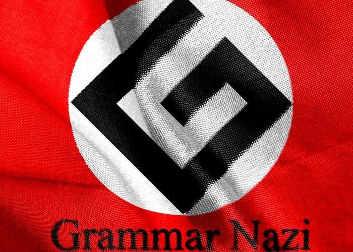 """În sfârşit! Cei mai lipsiţi de scrupule """"grammar nazi"""", aduşi în faţa Tribunalul de la Nürnberg"""