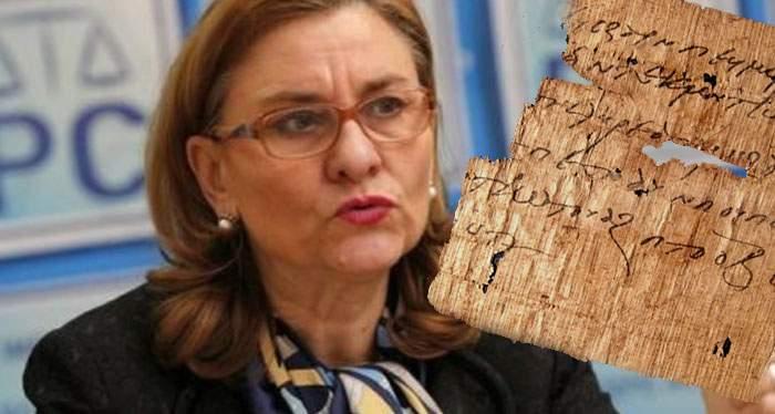 Arheologii români au studiat degeaba un text presupus antic! Era scris de Maria Grapini
