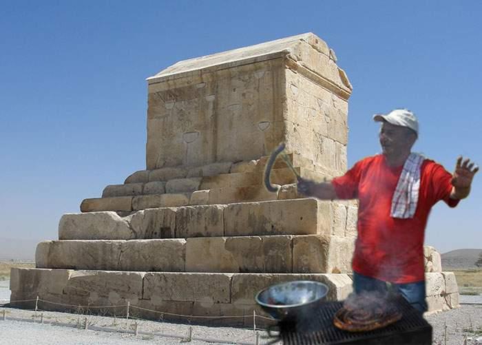 Locuiau daci în Persia? Grătare vechi de 2500 de ani descoperite în Iran