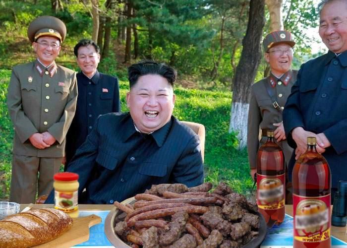 Pacea dintre cele două Corei, confirmată oficial! În zona demilitarizată s-a încins grătarul cu mici