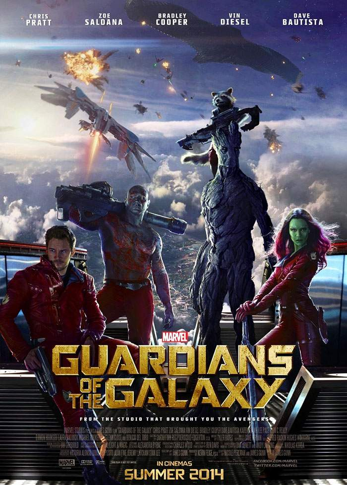 Guardians of the Galaxy – De la Terra pân' la Ursa, tot E.T-ul plânsu-ni-s-a!