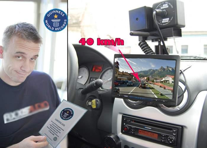 Un român a intrat în Guiness Book după ce a atins 40 km/h în localitatea Buşteni