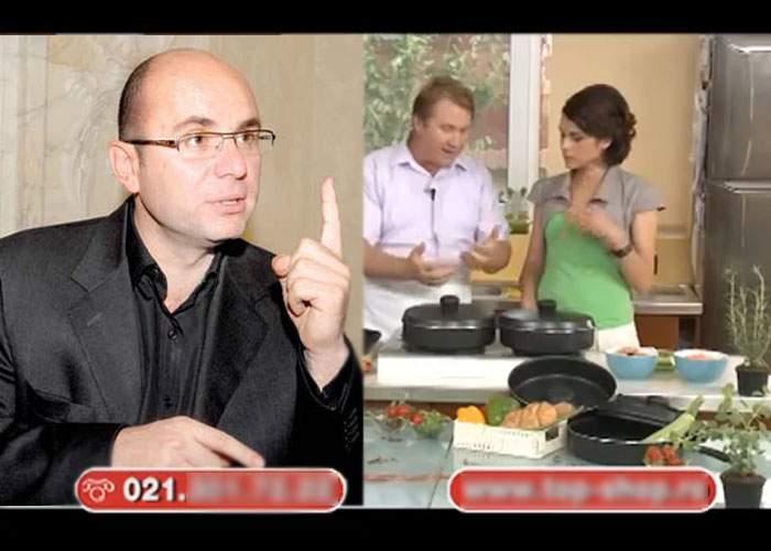 Cozmin Gușă a intervenit, în exclusivitate, în emisiunea de teleshopping de la Realitatea