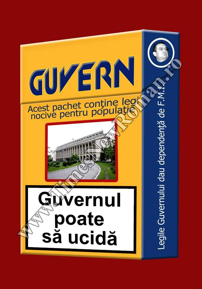 Atenţie! Guvernul României poate să ucidă!