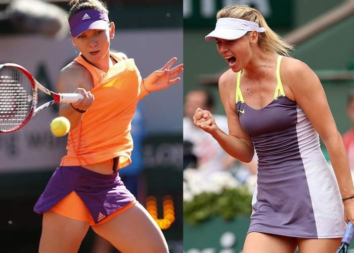 10 lucruri despre finala de la Roland Garros, dintre Simona Halep și Maria Șarapova