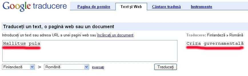 Limba română e înrudită cu finlandeza